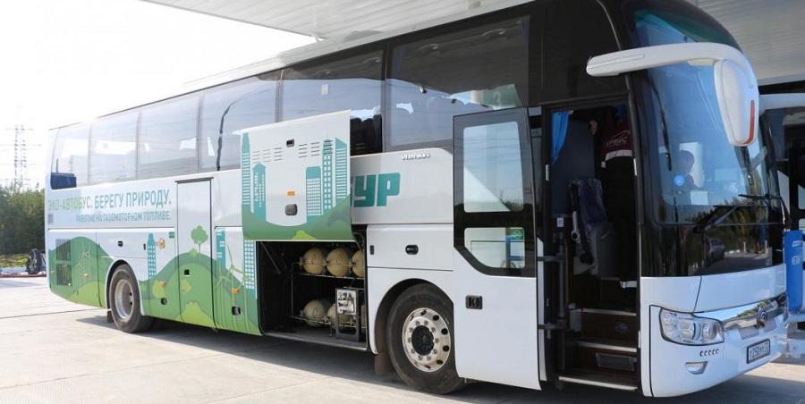 СИБУР запустил автобусы на газе для доставки сотрудников из г. Тобольск на предприятия