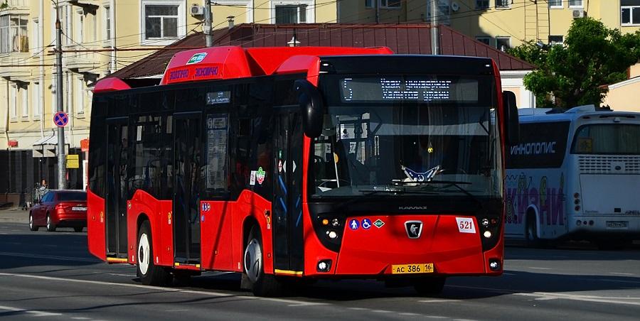 Р. Минниханов принял участие в церемонии вручения новых автобусов на ГМТ для городских перевозок в г. Казань