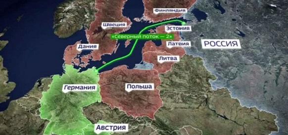 Финляндия выдала 2-е, финальное разрешение на строительство газопровода Северный поток-2