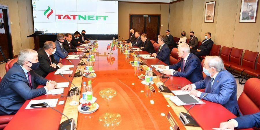 Татнефть посетила делегация из Ирака во главе с министром нефти И. Исмаилом