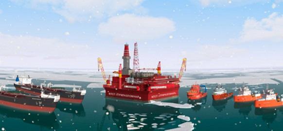 Крыловский ГНЦ изучил работу морской транспортно-технологической системы МЛСП Приразломная