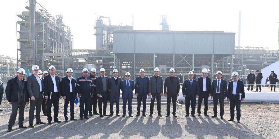 На Ферганском НПЗ стартовало производство дизтоплива Евро-4 и Евро-5