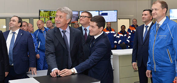 NOVATEK launches crude oil production at the Yaro-Yakhinskoye field