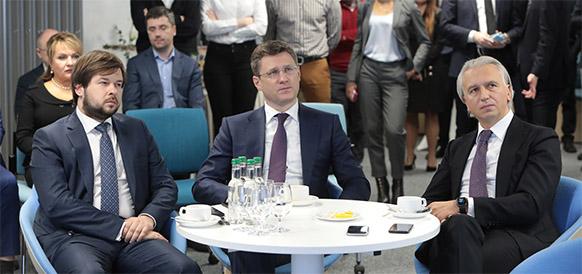 А. Новак оценил возможности цифровой трансформации Газпром нефти. ВИДЕО