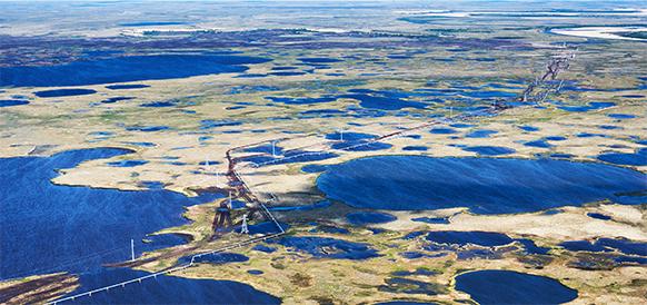 Опять порадовал пласт ПК 1-3 на Западно-Мессояхском месторождении. Открыта новая газонефтяная залежь с геологическими запасами в 85 млн т!