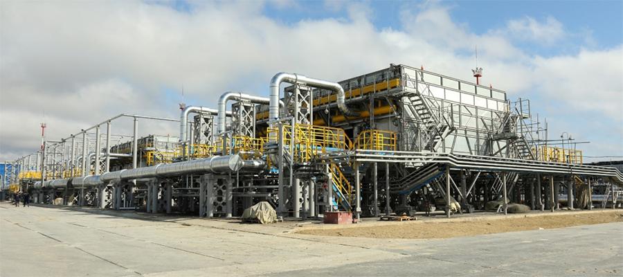Газпром добыча Ноябрьск нарастил дожимные мощности на Еты-Пуровском месторождении