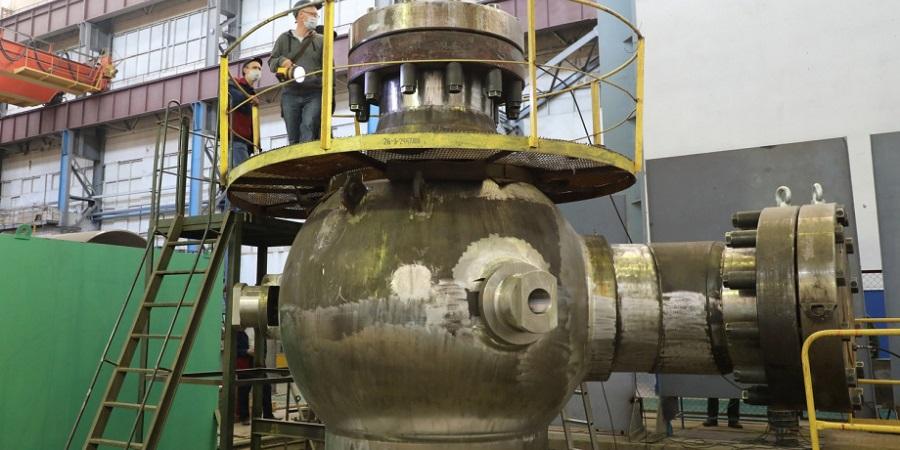 Корпус насоса для АЭС Руппур прошел гидравлические испытания на Петрозаводскмаше