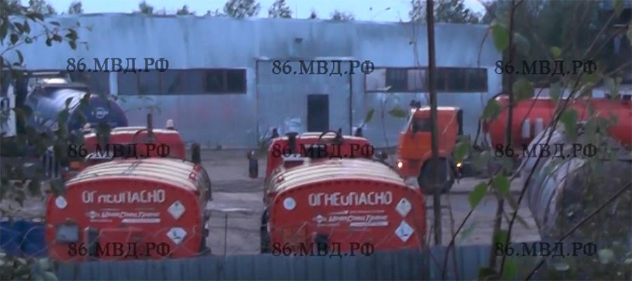 На месторождении в Советском районе ХМАО пресечена кража нефтепродуктов (ВИДЕО)