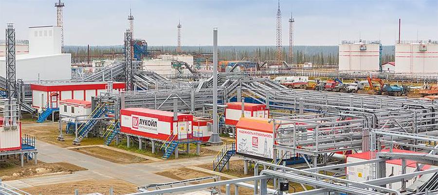 ЛУКОЙЛ проводит реконструкцию УПН Уса-Тяжелая нефть на Усинском месторождении в республике Коми