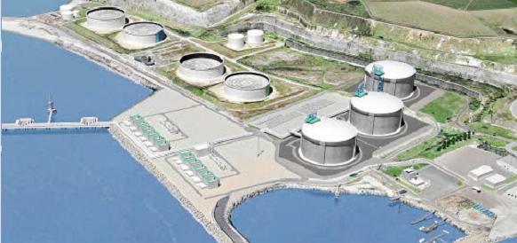 Российские компании интересуются проектом СПГ-терминала, который будет построен в Марокко