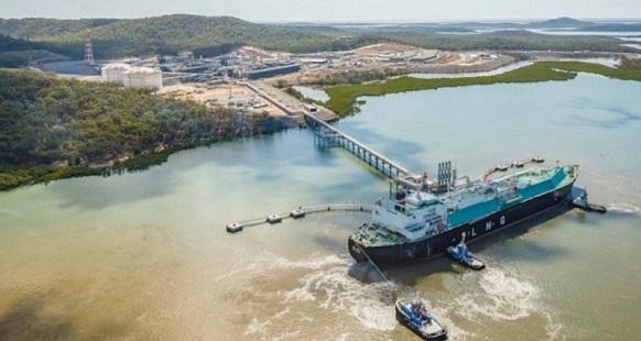 1-й танкер - газовоз отгружен с СПГ-завода на острове Кертис в Австралии