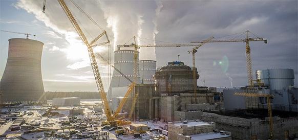 На энергоблоке №2 Ленинградской АЭС-2 завершилось возведение внутренней защитной оболочки реактора