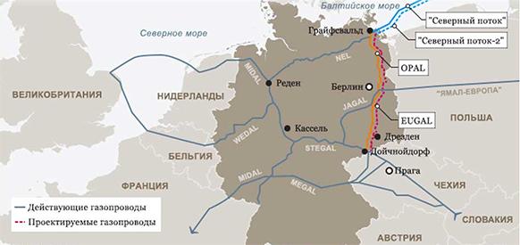 Власти земли Саксония дали еще одно разрешение на строительство газопровода EUGAL - отвода от Северного потока-2