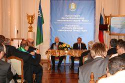 На презентации Югры Александр Филипенко предложил послам стабильное будущее