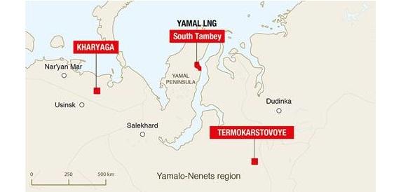 Termokarstovoye gas field brought on stream in Northern Siberia