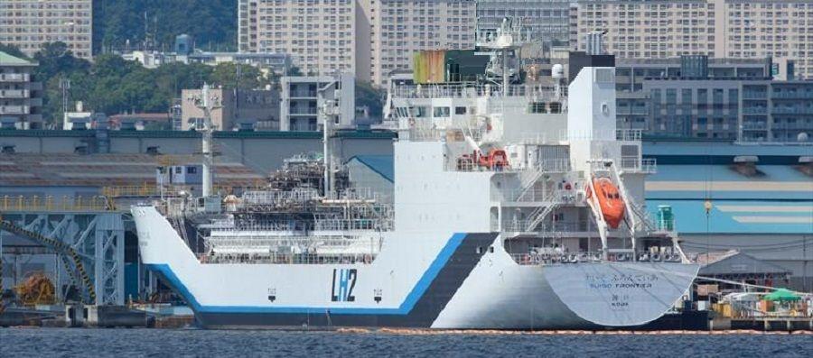 Kawasaki построила первый в мире танкер для перевозки водорода