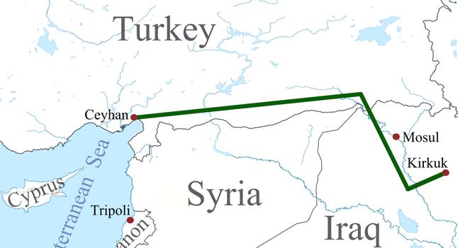 Снова взрыв на нефтепроводе Ирак-Турция. Поставка нефти прервана