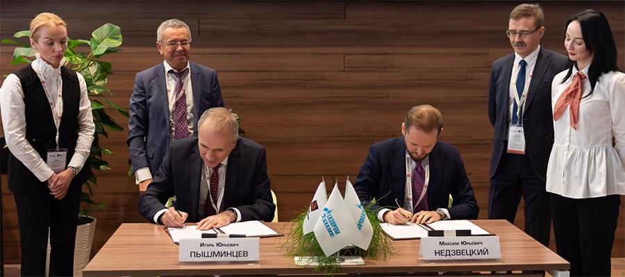С акцентом на шельфовые проекты. Газпром и ТМК обсудили научно-техническое сотрудничество