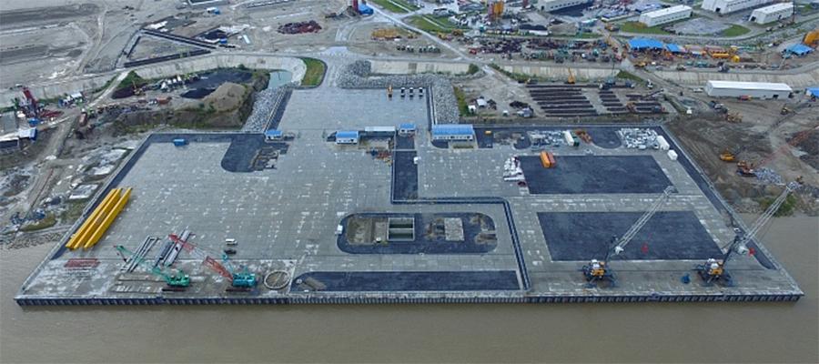 Речной порт на р. Падма в Бангладеш готов к приему крупногабаритных грузов для АЭС Руппур