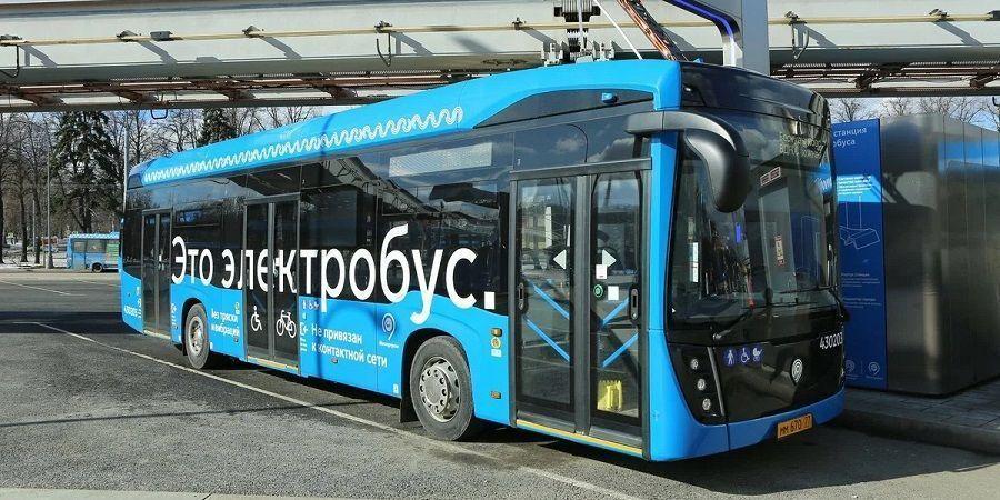 В России разрабатывают двухсекционный электробус с ночной зарядкой