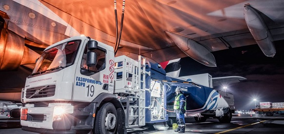 Direct sales of Gazprom Neft aviation fuels up 11 % in 2018