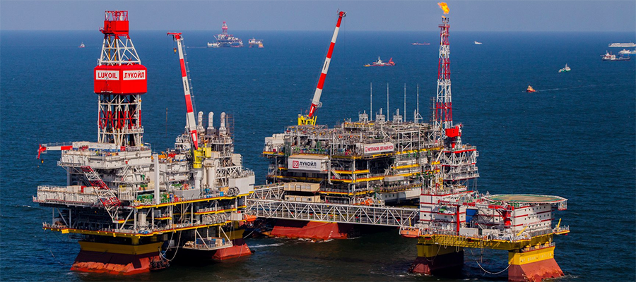 35 000 000 tonnes of oil produced at LUKOIL´s North Caspian fields