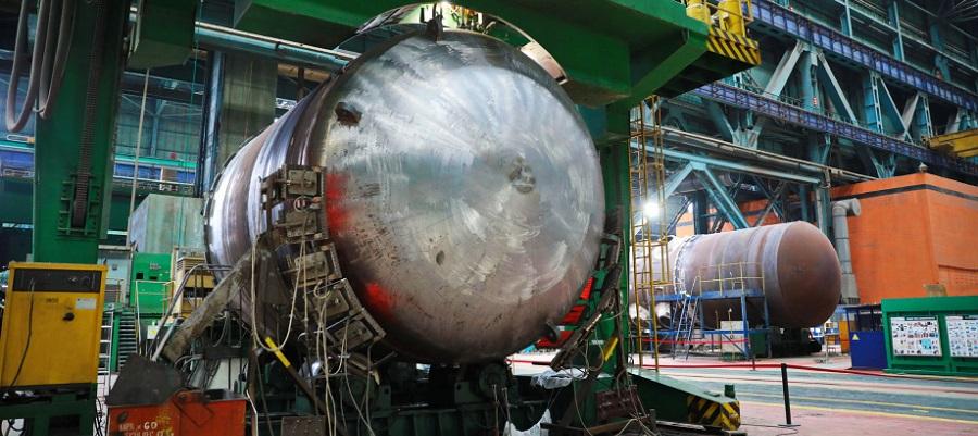 Атоммаш приступил к ключевому этапу изготовления корпуса реактора для 2-го блока АЭС Руппур