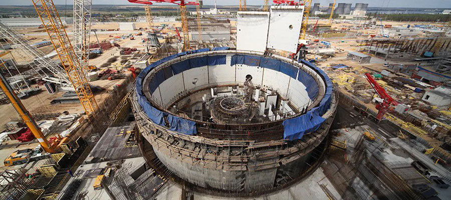 The 3rd layer of the reactor building inner containment has been erected at power unit №1 of Rooppur NPP