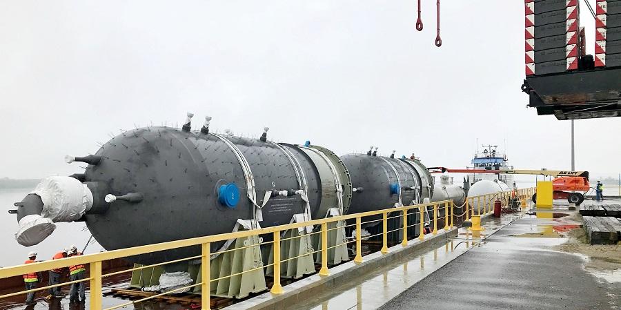 Завершена доставка грузов на Амурский ГПЗ в рамках навигации 2020 г.