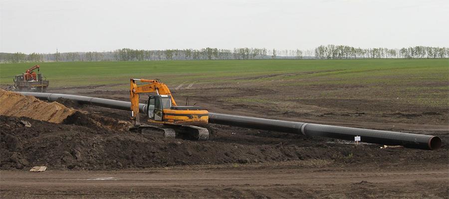В Шолоховском районе Ростовской области началось строительство межпоселкового газопровода