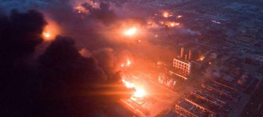 Метан угольных пластов. В Китае произошел взрыв на ГПЗ компании Henan coal gas
