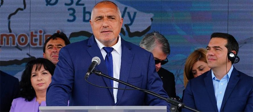 Boyko Borisov and Alexis Tsipras launched construction of €220 million gas interconnector