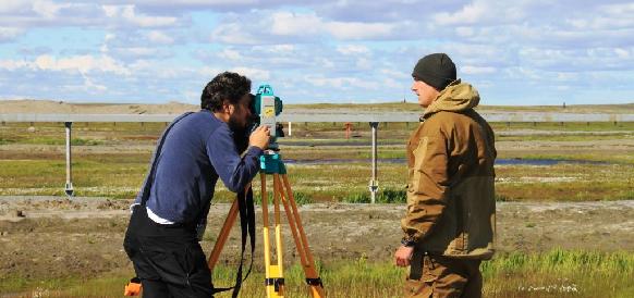 Газпром ВНИИГАЗ провел очередной этап полевых работ на трассе магистрального газопровода Бованенково-Ухта