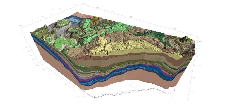 Геологическая модель месторождения