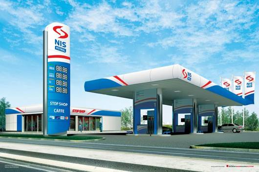 Газпром открыл 1-ю на Балканах АЗС под своим брендом. Но , это -начало