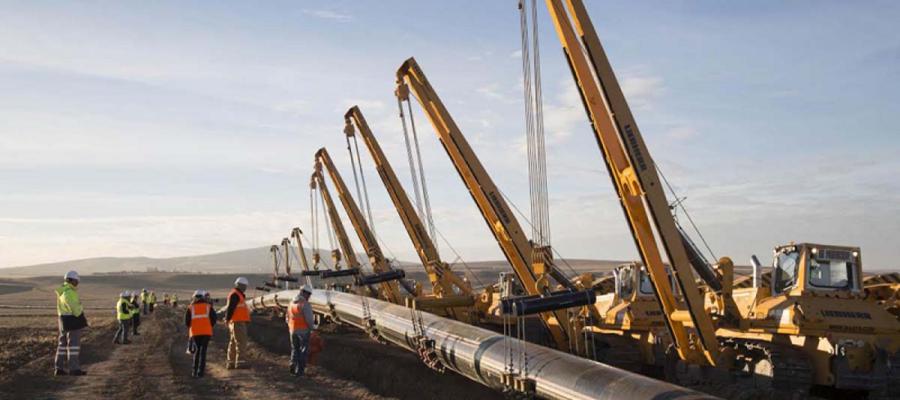 Ускоряются. Скорость сварочных работ на газопроводе-интерконнекторе Греция - Болгария растет
