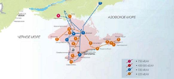 Ультиматум. Укрэнерго официально начало спорить с Россией по электросетевым активам в Крыму Голосовать!