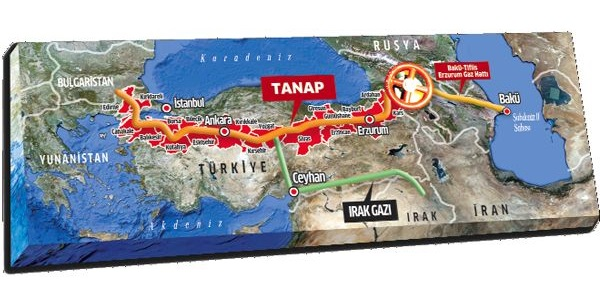 The European Investment Bank agrees $1.15 billion investment for TANAP gas pipeline