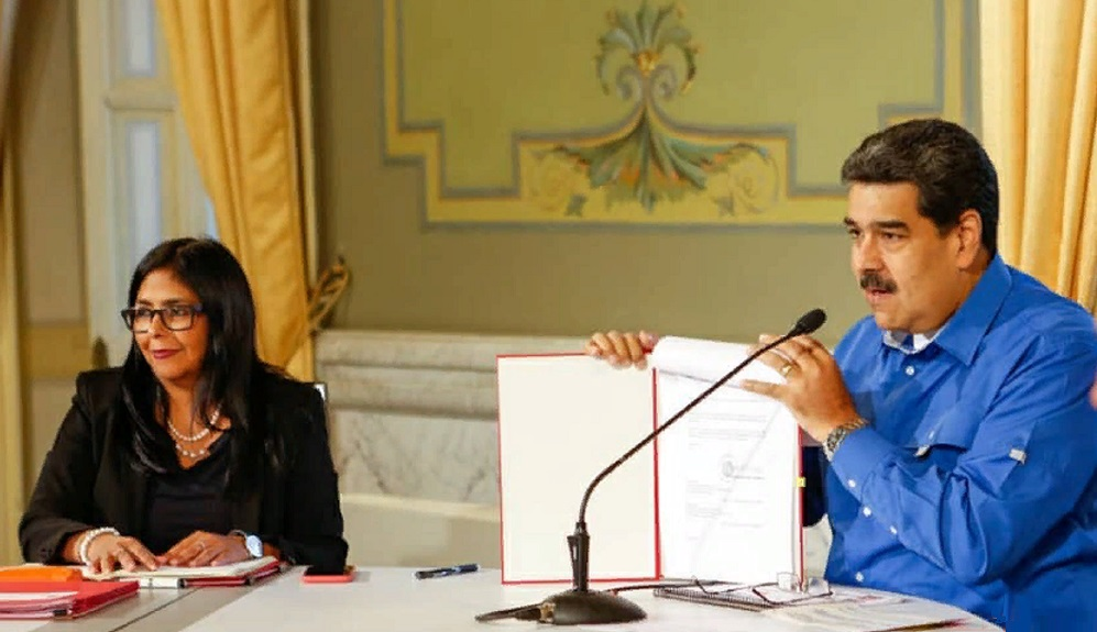 Министр Х. Родригес. Причина сбоя на ГЭС Симон Боливар в Венесуэле - атаки хакеров из США