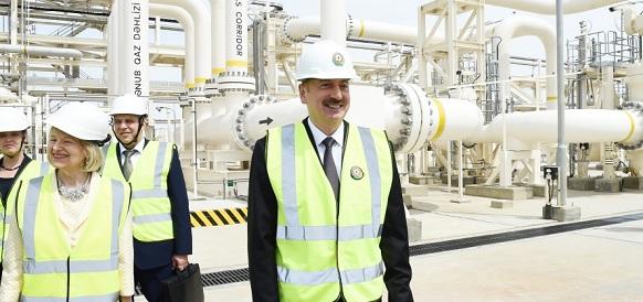 ЮГК официально открыт. Началось заполнение газом газопровода TANAP (ФОТО)