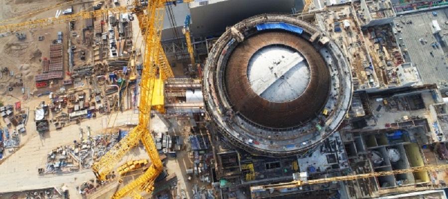 На энергоблоке №2 Ленинградской АЭС-2 установлены электродвигатели главных циркуляционных насосов