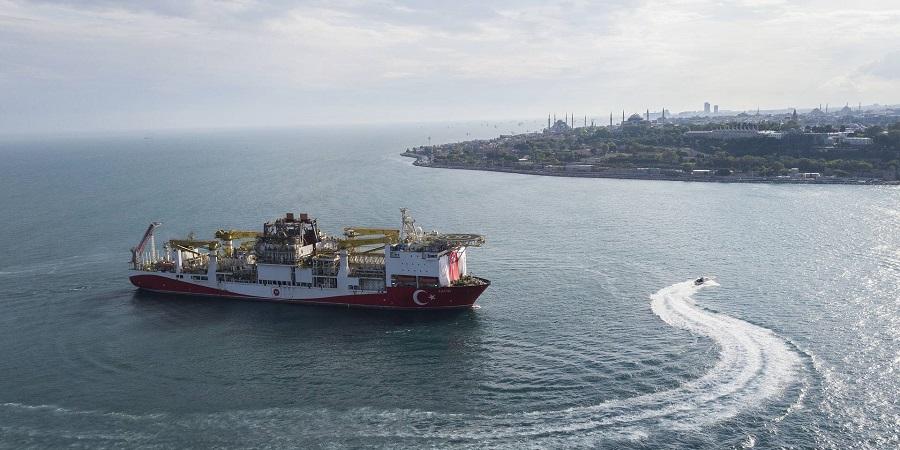 Философия Голубая Родина. Т. Эрдоган волнующе сообщил об открытии в Черном море газового месторождения Сакария с запасами 320 млрд м3