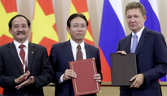 Vietnam and Russia expand joint South China Sea gas projects