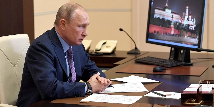 В. Путин согласился ввести режим ЧС федерального уровня из-за разлива нефтепродуктов в г. Норильск