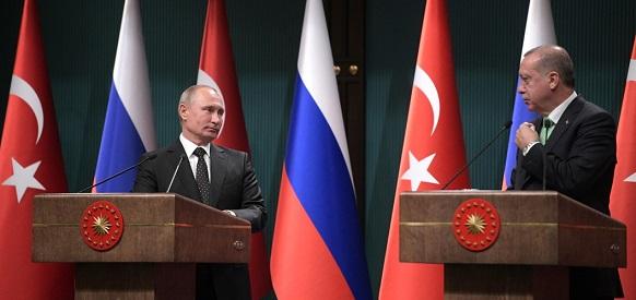 В. Путин и Р. Т. Эрдоган дали старт началу строительства АЭС Аккую в Турции