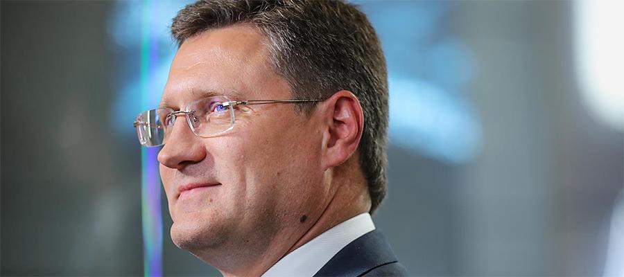 Поздравление министра энергетики А. Новака с Днем шахтера