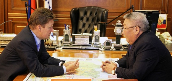 Газпром заинтересован в развитии сотрудничества с научными организациями и предприятиями республики Саха (Якутия)