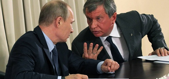 Стратегическая угроза. И. Сечин эпистолярно указал В. Путину на то, что сделка ОПЕК ставит в выгодное положение США и грозит РФ потерей рынка