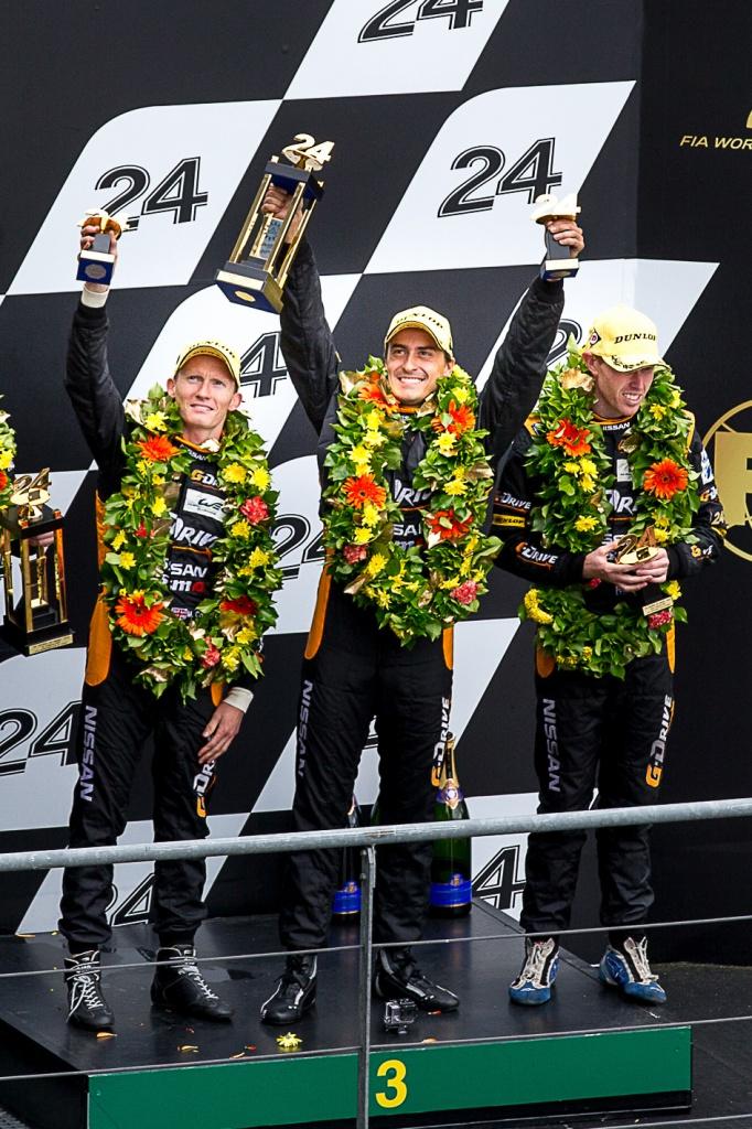 Команда G-Drive Racing заняла 3-е место в гонке 24 часа Ле Мана