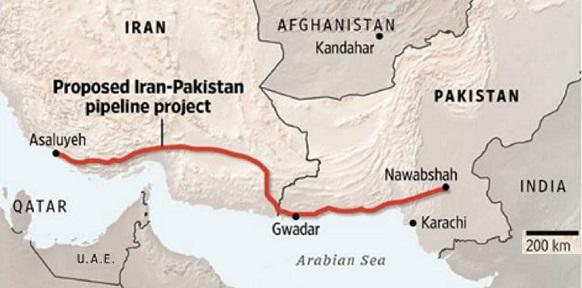 Индия и Пакистан рассматривают предложение об участии России в строительстве морского газопровода между странами через порт Гвадар